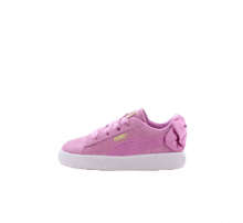 Puma Suede Bow AC Infant Orchid