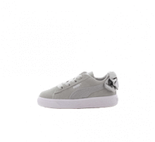 Puma Suede Bow AC Infant Gray Violet