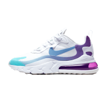 Nike Women's Air Max 270 React White/Light Blue