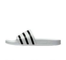 Adidas Adilette White/Core Black