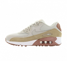 Nike Women's Air Max 90 Light Bone/Mushroom-Particle Pink