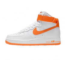 Nike Women's Air Force 1 High White/Orange Peel