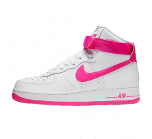 Nike Women's Air Force 1 High White/Laser Fuchsia-True Berry