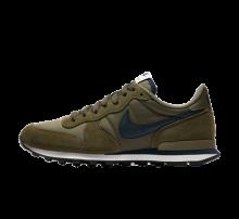 Nike Internationalist Medium Olive/Obsidian-Sail