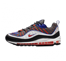 Nike Air Max 98 Gunsmoke/Team Orange-Laser Orange