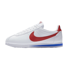 Nike Women's Classic Cortez Leather White/Varsity Red-Varsity Royal