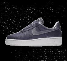 Nike Women's Air Force 1 '07 Premium Light Carbon/Metallic Cool Grey