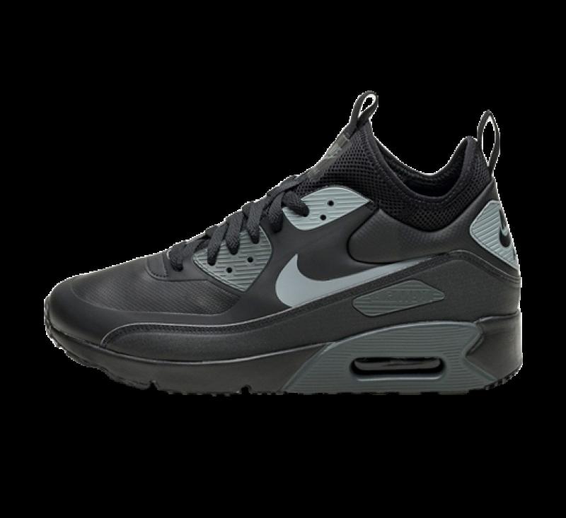 Nike Air Max 90 Ultra Mid Winter BlackCool Grey | Gratis en snelle levering | Online kopen bij Sneaker District