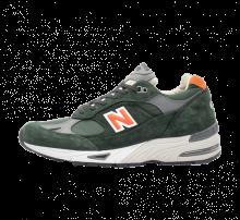 New Balance M991TNF Green/Orange