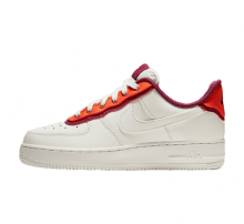Nike Women's Air Force 1 '07 SE Sail/Team Orange-True Berry