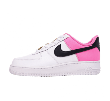 Nike Women's Air Force 1 '07 SE White/Black-China Rose