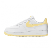 Nike Women's Air Force 1 '07 White/Bicycle Yellow-White