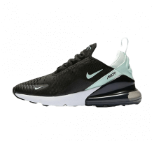 Nike Womens Air Max 270 Black/igloo-hyper turq-white