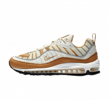 Nike Women's Air Max 98 Phantom/Beach-Wheat-Reflect Silver