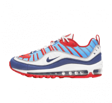 Nike Women's Air Max 98 Summit/White/Blue Void-University Red