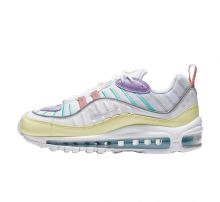 Nike Women's Air Max 98 Luminous Green/White-Atomic Violet