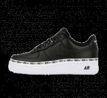 Nike Women's Air Force 1 '07 SE Premium Black/Black-White