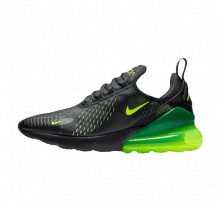 Nike Air Max 270 Black/Volt Black Oil Grey
