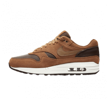 Nike Air Max 1 Premium Leather Ale Brown/Golden Beige-Baroque Brown