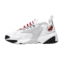 Nike Women's Zoom 2K White/Pure Platinum-Gym Red