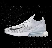 Nike Air Max 270 Flyknit Pure Platinum/Black-Dark Grey