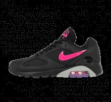 Nike Air Max 180 Black/Pink Blast-Wolf Grey