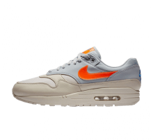 online store 21307 fdf1f Nike Air Max 1 Desert Sand Total Orange-Wolf Grey