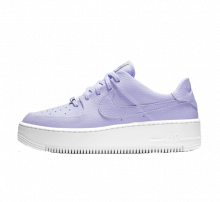 Nike Women's Air Force 1 Sage Low Oxygen Purple/White