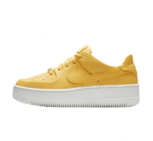 separation shoes 9c4e6 bab3f Nike Womens Air Force 1 Sage Low Topaz GoldWhite