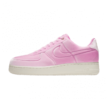 Nike Air Force 1 '07 Premium Velvet Pink Rise/Sail-Metallic Gold