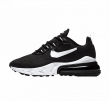Nike Women's Air Max 270 React Black/White-Black