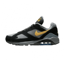 Nike Air Max 180 Cool Grey/Wheat Gold-Black