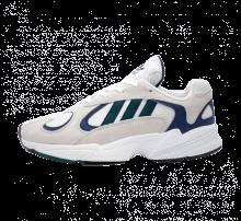 Adidas Yung-1  Footwear White/Noble Green-Dark Blue