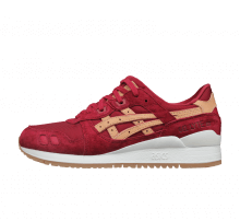 Asics Gel Lyte III - Burgundy / Tan