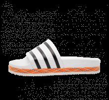 Adidas Women's Adilette New Bold Footwear White/Core Black