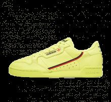 Adidas Continental 80 Semi Frozen Yellow/Scarlet