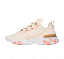 Nike Women's React Element 55 Phantom/LT Orewood Brown