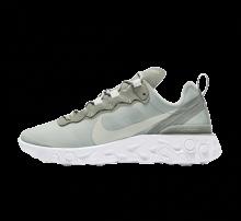 Nike Women's React Element 55 Mica Green/Light Silver-White
