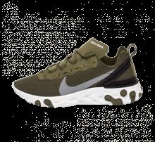 Nike React Element 55 Medium Olive/Cool Grey-Black-White