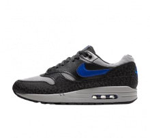 Nike Air Max 1 SE Reflective Off Noir/Hyper Blue-Atmosphere Grey