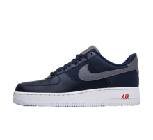 Nike Air Force 1 '07 LV8 Obsidian/Cool Grey-Team Orange