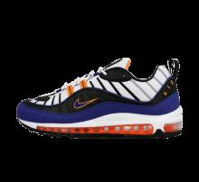 Nike Air Max 98 White/Deep Royal Blue-Total Orange