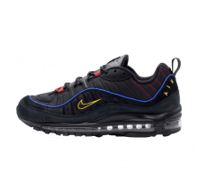 Nike Air Max 98 Black/Amarillo-University Red