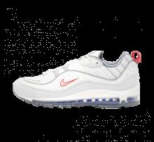 on sale 922d4 41627 Nike Air Max 98 Summit White Metallic Silver