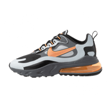 Nike Air Max 270 React Winter Wolf Grey/Total Orange-Black