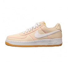 official photos db1ce b1fb8 Nike Air Force 1 07 Premium Light CreamWhite-Crimson Tint