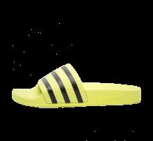 Adidas Women's Adilette Ice Yellow/Core Black