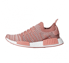 Adidas Women's NMD R1 STLT Primeknit Ash Pink/Orchid Tint-Footwear White