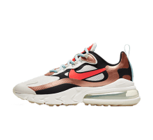 Nike Women's Air Max 270 React Sail/Black-Metallic Red bronze