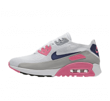 Nike WMNS Air Max 90 Ultra 2.0 Flyknit White/Concord-Laser Pink-Black